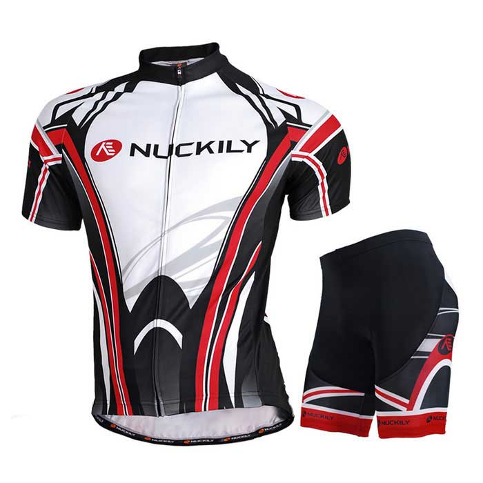 dc51c73ee NUCKILY High Quality Men s Cycling Short-Sleeve Jersey + Short Pants ...