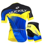 NUCKILY High Quality Men's Cycling Short-Sleeve Jersey + Short Pants