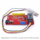 Pro Mini UNO Shield Adapter + Pro Mini Board + Programmerer for Arduino
