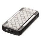 MAIKOU Net Pattern Dual Arch USB Rechargeable Lighter - Black