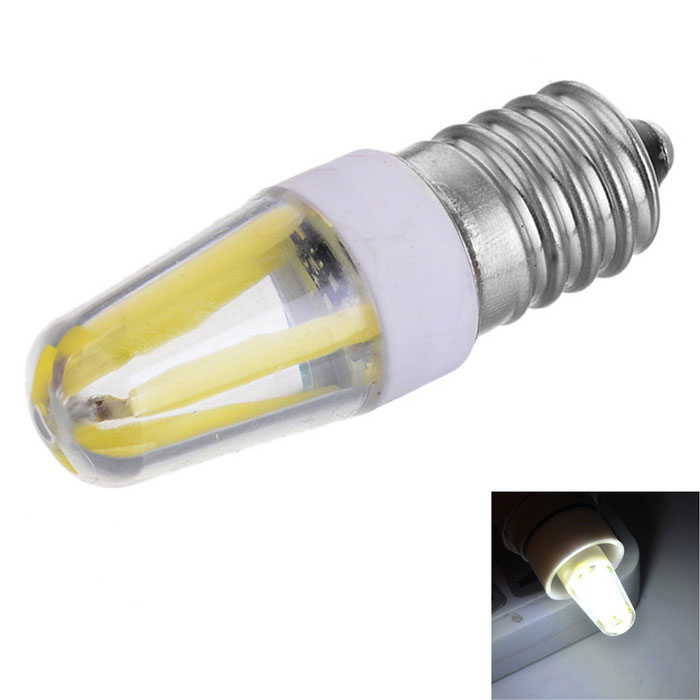 Marsing E14 Dimmable 3.5W 300lm COB LED Cold White Light Filament Bulb