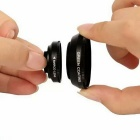 0.7X HD Wide Angle Lens + 12X Marco Lens - Black