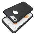 TPU + PC Back Case for IPHONE 7 - Black