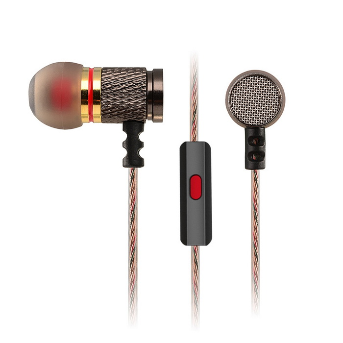 KZ EDR1 3.5mm Plug Bass Hi-Fi In-Ear Earphone w/ MicrophoneHeadphones<br>Form  ColorIron GreyModelKZ EDR1MaterialMetal + ABSQuantity1 DX.PCM.Model.AttributeModel.UnitShade Of ColorGrayHeadphone StyleBilateral,In-EarConnection3.5mm WiredCable Length120 DX.PCM.Model.AttributeModel.UnitSensitivity116dBTHDRemoteYesWith MicrophoneBuilt-inDriver Unit6.8mmFrequency Response7~31KHzImpedance16 DX.PCM.Model.AttributeModel.UnitChannels2.0Connector3.5mmLeft &amp; Right Cables TypeEqual LengthVolume ControlNoOther FeaturesStyle: in-ear <br>Drive unit: 6.8mm<br>Impedance: 16ohm<br>Frequency Response: 7~31kHz<br>Plug: 3.5mm<br>Power: 5mW<br>Sensitivity: 116dB<br>Cable length: 120cmBrandKZBluetooth VersionNoWaterproof LevelIPX0 (Not Protected)Applicable ProductsUniversalHeadphone FeaturesHiFi,Phone Control,With Microphone,PortableSupports MusicYesSupport Memory CardNoSupport Apt-XNoPacking List1 * Earphone (120±2cm)4 * Earbud caps<br>