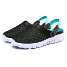 Men's Air-mesh Beach Leisure Sandals Shoes - Lake Blue (Pair / 43)