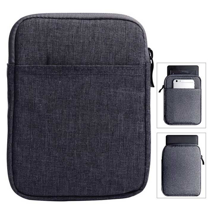 Inner Sleeve Bag Case for New Kindle 6 / Paperwhite Voyage - Deep Grey
