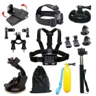 Tigerone 18-in-1 Sports Camera Accessories Kit for GoPro  Hero 3/3+/4