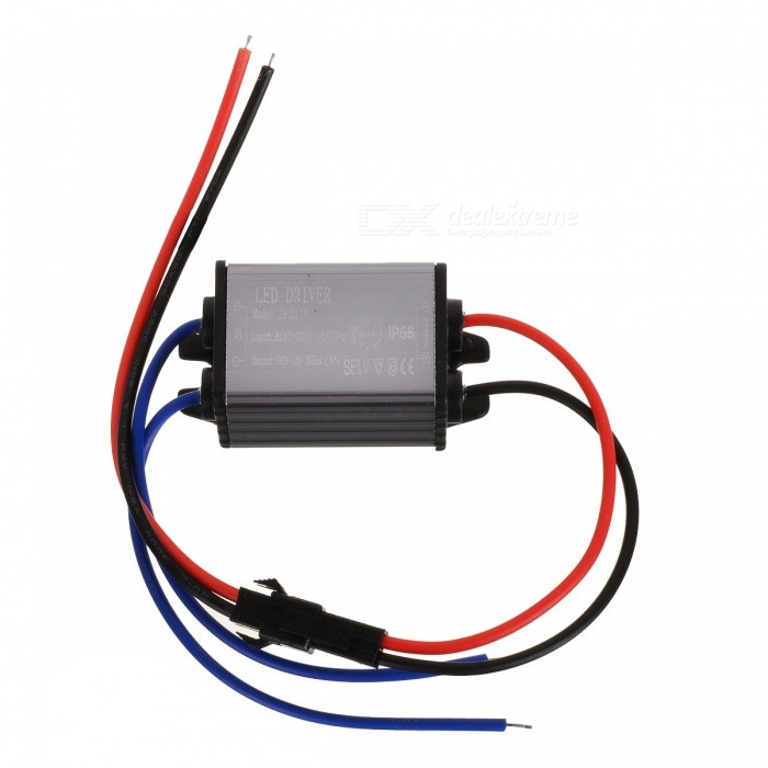 Waterproof 1~3 x 1W 240mA Power Constant Current Source LED Driver