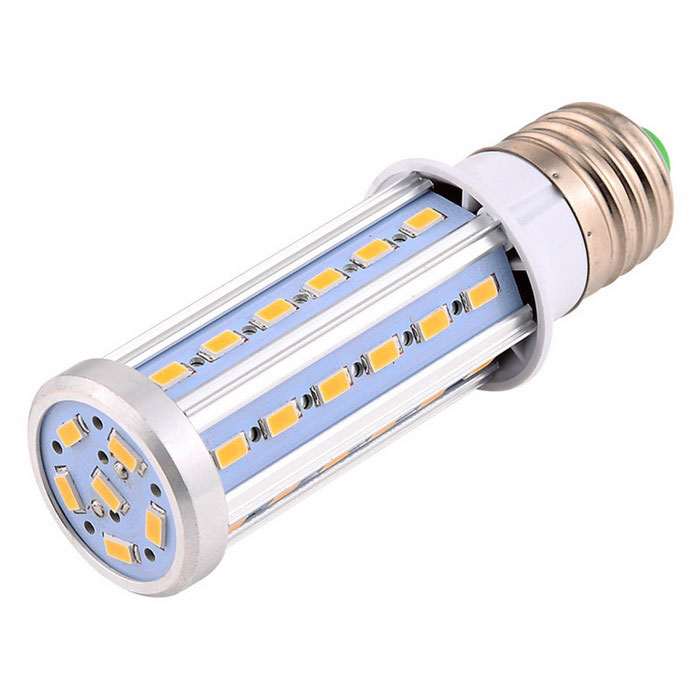 YWXLight E27 10W LED Corn LED Bulb Warm White LightE27<br>Color BINWarm WhiteMaterialAluminum, PCForm  ColorWhite + Orange + Multi-ColoredQuantity1 DX.PCM.Model.AttributeModel.UnitPower10WRated VoltageAC 85-265 DX.PCM.Model.AttributeModel.UnitConnector TypeE27Emitter TypeOthers,5730 SMDTotal Emitters42Theoretical Lumens1200 DX.PCM.Model.AttributeModel.UnitActual Lumens800-1000 DX.PCM.Model.AttributeModel.UnitColor Temperature3000KDimmableNoBeam Angle360 DX.PCM.Model.AttributeModel.UnitPacking List1 * YWXLight  LED Bulb<br>