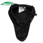 CARKING MTB Bicycle Mountain Road Gel Seat 3D Pad Saddle Cover - Black