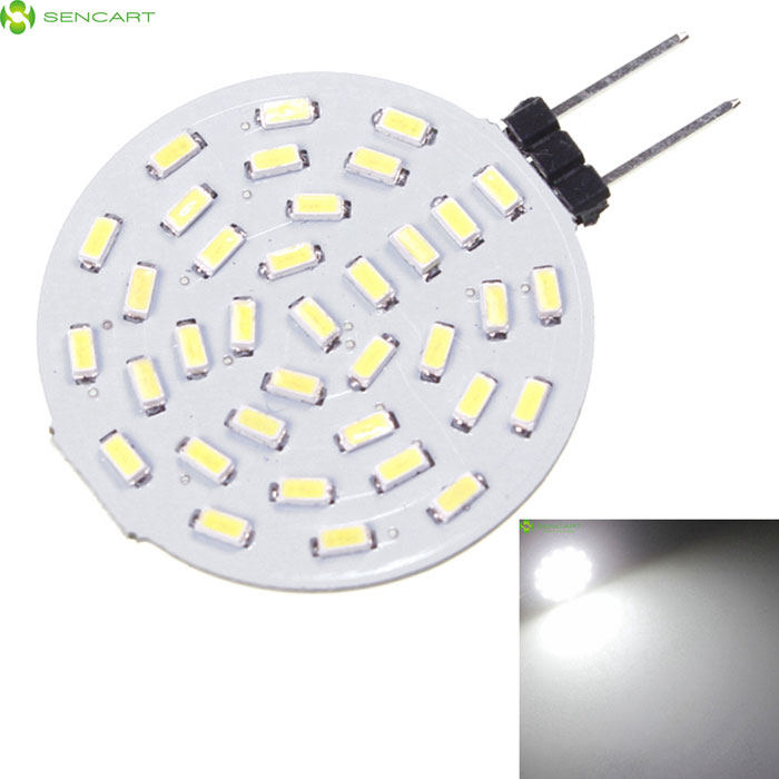 G4 GU4 GZ4 5W 36x3014 SMD LED 6000K Cold White LED Bulb AC/DC12V
