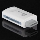 Wii a HDMI convertitore di uscita 720 / 1080P Video + Audio Converter Adapter