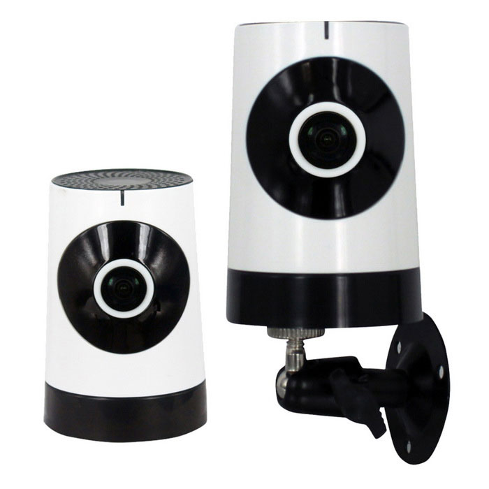 185 1.0MP Network Panoramic Wi-Fi Camera w/ Home Security (UK Plug)IP Cameras<br>Form  ColorWhite + BlackPower AdapterUK PlugModelST-4D10185CIRW-4MaterialPVCQuantity1 DX.PCM.Model.AttributeModel.UnitImage SensorCMOSImage Sensor SizeOthers,1/4 InchPixels1280 * 720(1.0MP)LensOthers,1.44mmViewing AngleOthers,185 DX.PCM.Model.AttributeModel.UnitVideo Compressed FormatH.264Picture Resolution720PFrame Rate25Input/Output1 CHAudio Compression FormatAACMinimum Illumination0.1 DX.PCM.Model.AttributeModel.UnitNight VisionYesIR-LED Quantity6Night Vision Distance10 DX.PCM.Model.AttributeModel.UnitWireless / WiFi802.11 b / g / nNetwork ProtocolTCP,IP,UDP,HTTP,SMTP,DHCP,NTP,DDNS,PPPoE,TFTPSupported SystemsOthers,-Supported BrowserOthers,-SIM Card SlotNoOnline Visitor3IP ModePPPoEMobile Phone PlatformAndroid,iOSPTZ memoryChargeFree DDNSYesIR-CUTYesBuilt-in Memory / RAMNoLocal MemoryYesMemory CardMicro SD/TF cardMax. Memory Supported128GBMotorNoRotation Angle360Zoom3xSupported LanguagesEnglish,Simplified ChineseWater-proofNoRate VoltageDC 5VRated Current1 DX.PCM.Model.AttributeModel.UnitIntercom FunctionYesPacking List1 * Camera1 * Power supply (UK plug)1 * 1M power cable1 * English User manual4 * Screws1 * Reset needle<br>