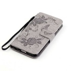 "BLCR Butterfly Pattern suojakotelo 5,5 ""IPHONE 6 Plus - Gray"