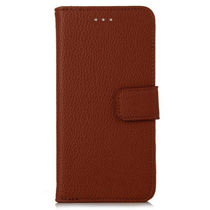 Lichee Pattern Protective Full Body Case for IPHONE 7 plus - BrownLeather Cases<br>Form  ColorBrownQuantity1 DX.PCM.Model.AttributeModel.UnitMaterialPUCompatible ModelsOthers,iPhone 7StyleFull Body CasesDesignSolid Color,With Stand,Lichee Pattern,Card SlotAuto Wake-up / SleepNoPacking List1 * Case<br>
