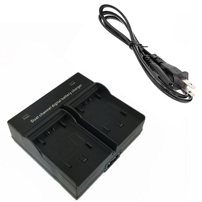 FH100 Digital Camera Battery Dual Charger for Sony FH 50 70 100 FV 50