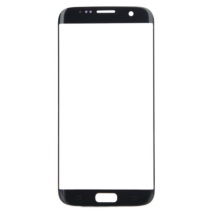 Buy Replacement Glass Touch Screen Panel for Samsung S7 Edge - Black with Litecoins with Free Shipping on Gipsybee.com