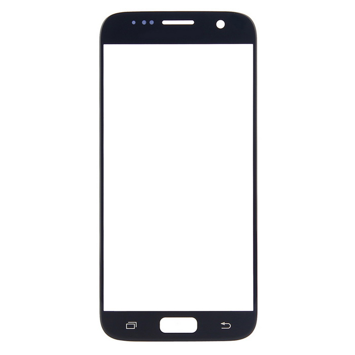 Buy Replacement Glass Touch Screen Panel for Samsung S7 G930 - Black with Litecoins with Free Shipping on Gipsybee.com