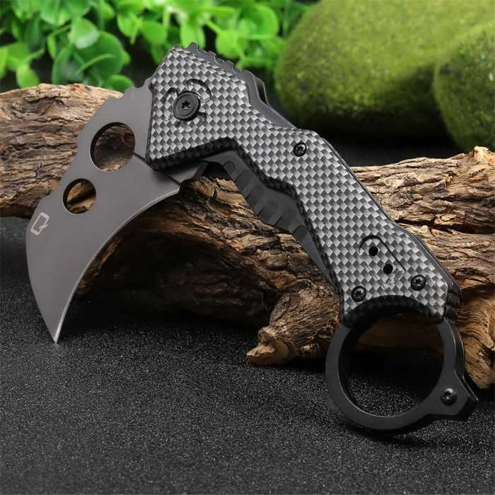 Outdoor Camping Multifunction Liner Lock Foldable Knife - Silvery GreyKnives<br>Form  ColorSilver GreyModelDA46Quantity1 DX.PCM.Model.AttributeModel.UnitMaterial3cr13 titanium stainless steelBest UseFamily &amp; car camping,MountaineeringBlade Length6 DX.PCM.Model.AttributeModel.UnitHandle Length11.5 DX.PCM.Model.AttributeModel.UnitCarabiner typeOthers,NoLength17.5 DX.PCM.Model.AttributeModel.UnitSizeFree SizeTypeKnivesOther FeaturesFold Length :14cm<br>Blade Width : 3.8cmPacking List1 * Foldable  Knife<br>