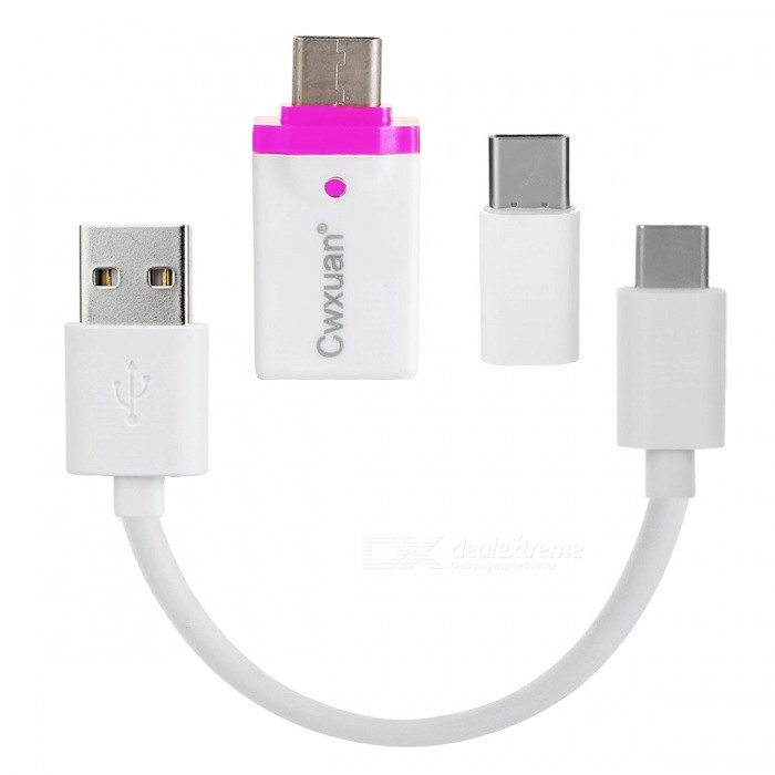 Cwxuan USB 3.1 Cable & Type CM til Micro USB / USB 3.0 F Adapter Kit