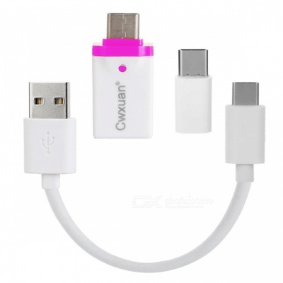 Cwxuan USB 3.1 Cable & Type C M to Micro USB / USB 3.0 F Adapter Kit