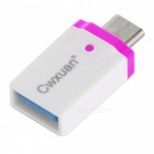 Cwxuan USB 3.1 Cable & Tyyppi CM Micro USB / USB 3.0 F Adapter Kit