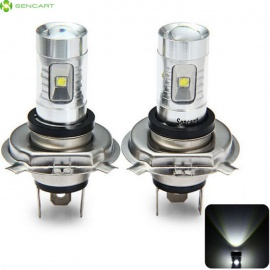 SENCART-H4-P43T-LED-Cold-White-Light-Bulb-for-Car-Fog-Lamps-(2-PCS)