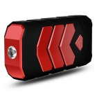 Emergency Portable Power Bank Car Jump Starter - Black + Red