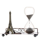 H-012-Eiffel-Tower-Style-Magnetic-Sand-Clock-Bronze