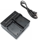LPE5 Digital Camera Battery Dual Charger for Canon EOS 500D 1000D 450