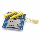 GPRS A6 Mini Serial GPRS GSM-modul Kjerne developemnt Board for Arduino