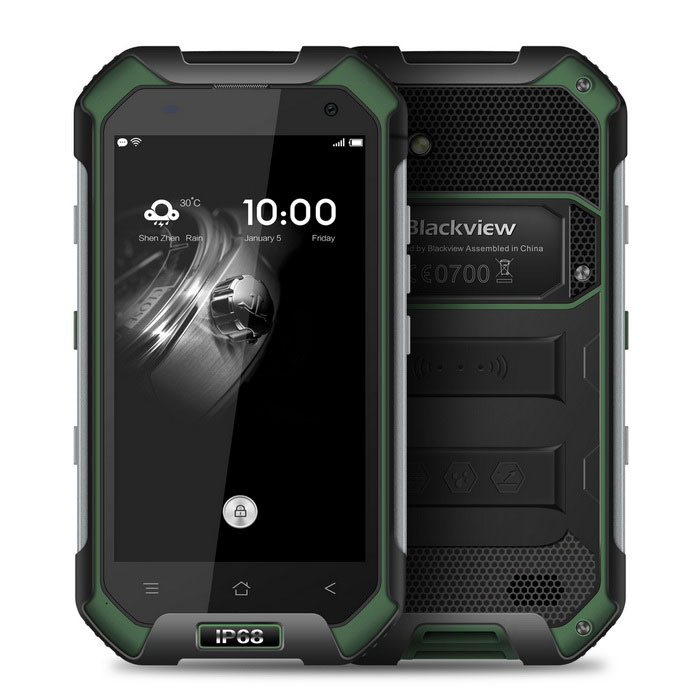 Blackview BV6000S Android 6.0 Phone w/ 2GB RAM, 16GB ROM - Green