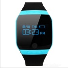 KICCY Bluetooth V4.0 OLED Touch Screen Smart Bracelet - Black + Blue