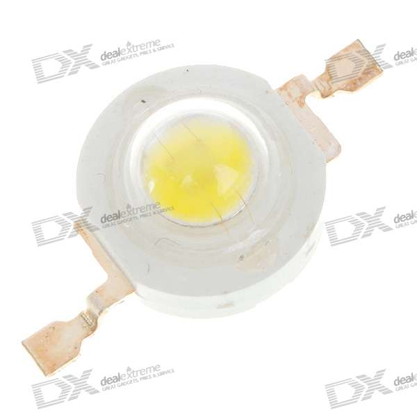 1W 90LM 8000K White Light LED Bulb (3.2V)