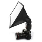 sidande portable photographie mini- diffuseur de flash softbox (15 * 17cm )