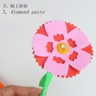 DIY Carnation + EVA Potted Paste Artificial Flowers Jigsaw Puzzle