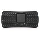 Bluetooth V3.0 Smart Touch Keyboard / Air Mouse w/ USB 2.0 - Black