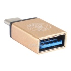 Hat-Prince USB 3.0 to USB 3.1 Type-C Converter Adapter - Gold