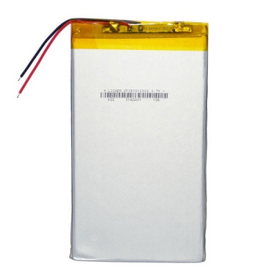 """Replacement 3.7V 4800mAh Battery for 7~10"""" Tablet PC - Silver"""