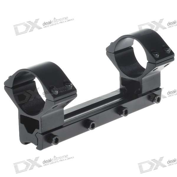 Dual Aluminum Alloy Bracket Mount with Hex Wrench for MEG Series Gun (30MM-Caliber)