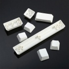 Maikou 104 Key PBT OEM Keycap Set No Print Support Infecting - White