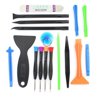 2288 17-in-1 Smartphone Repair Tool Set - Multicolor