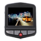 1080P Full HD CMOS 170' Wide-Angle Car DVR Camcorder - Black