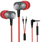 In-Ear Professional Gaming Headset 3.5mm Noise Cancelling Stereo Bass