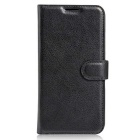 Lichee Pattern Protective Case for Doogee T6 - Black