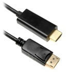 BSTUO DisplayPort macho DP a HDMI cable convertidor adaptador macho ( 1,8 m)
