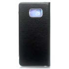 Protective PU + ABS Case for Samsung GALAXY NOTE 7 - Black