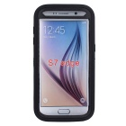 3 in1 Shockproof Combo Phone Case for SAMSUNG GALAXY S7 EDGE - Black
