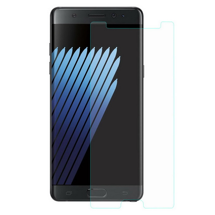 Hat-Prince Tempered Glass Protector for Samsung Galaxy Note 7Screen Protectors<br>Form  ColorTransparentScreen TypeGlossyModel-MaterialTempered GlassQuantity1 DX.PCM.Model.AttributeModel.UnitCompatible ModelsSamsung Galaxy Note 7Packing List1 * Screen Protector1 * Dust Remover1 * Cleaning Cloth1 * Alcohol Prep Pad<br>