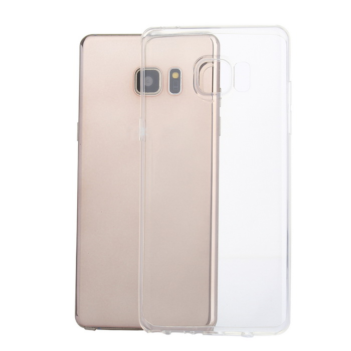 Ultra-thin TPU Protective Back Case for Samsung Note 7 - Transparent